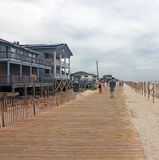 Lavallette New Boardwalk Stock Images