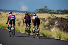 Lavaman-Triathlon Lizenzfreies Stockfoto