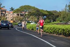 Lavaman triathlon Stock Photos