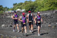 Lavaman triathlon Stock Photos