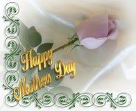 Lavanda Rose del día de madre Fotografía de archivo libre de regalías