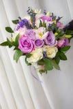 Lavander και τριαντάφυλλα Στοκ εικόνες με δικαίωμα ελεύθερης χρήσης