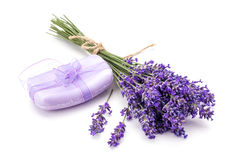 Free Lavander And Soap Royalty Free Stock Image - 94822726