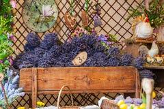 Lavander florece el ramo Fotografía de archivo libre de regalías