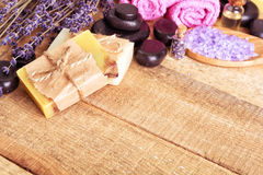 Lavander soap Stock Photo