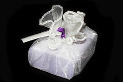 Lavander soap royalty free stock photography