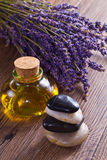 Lavander spa Stock Photo