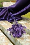 Lavanderboeket Royalty-vrije Stock Foto