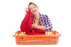 lavanderia Foto de Stock Royalty Free