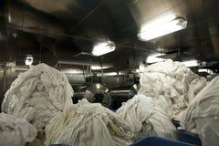 Lavanderia comercial Imagem de Stock