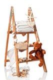 Lavanderia con i tovaglioli Immagine Stock Libera da Diritti