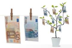 Lavanderia dei soldi Immagine Stock Libera da Diritti