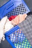 lavanderia del cestino Fotografia Stock