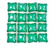 Lavanderia del gel delle capsule Fotografie Stock Libere da Diritti