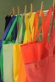 Lavanderia del sacchetto della spesa Fotografia Stock