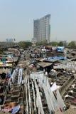 Lavanderia di Mumbai Fotografia Stock