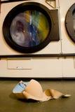 Lavanderia dimenticata Fotografia Stock Libera da Diritti