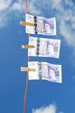 Lavanderia do dinheiro Imagem de Stock Royalty Free