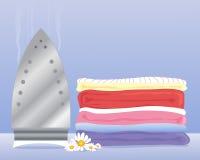 Lavanderia fresca Illustrazione di Stock