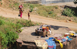 Lavanderia in India Fotografia Stock Libera da Diritti
