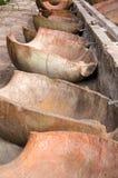 A lavanderia no monastério de Santa Catalina, Arequipa, Peru Fotos de Stock