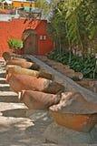 Lavanderia in Santa Catalina Monastery, Arequipa immagine stock