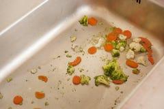 Lavandino in pieno delle verdure, Immagine Stock Libera da Diritti