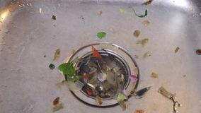 Lavandino sporco di Kichen archivi video
