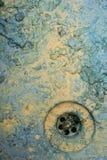 Lavandino sporco grungy astratto della pittura Immagini Stock Libere da Diritti