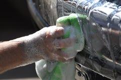 Lavando o caminhão Fotografia de Stock Royalty Free