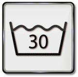 Lavando somente até 30 graus Foto de Stock Royalty Free