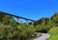 Lavant Valley. The famous bridge in the Lavant Valley, Austria Stock Photos