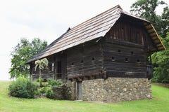 Lavanttalerhaus在露天博物馆玛丽亚Saal, Aus 免版税库存图片
