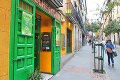 Lavapies, Мадрид Стоковые Изображения