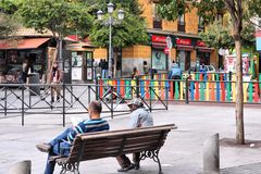 Lavapies, Madrid Stock Photo