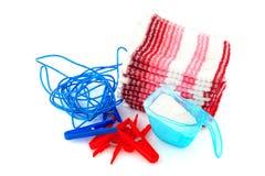 Lavar el lavadero foto de archivo libre de regalías