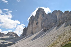 Lavaredo peaks Royalty Free Stock Images