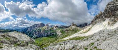 Lavaredo Valley. Valley in the Italian dolomite Royalty Free Stock Photo
