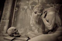 Lavarello grób Zdjęcie Royalty Free