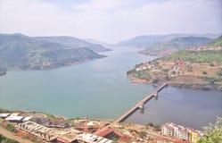 Lavasa-Stadt, Maharashtra lizenzfreies stockbild