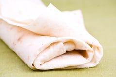 lavash хлеба изолированное зеленым цветом Стоковое Изображение