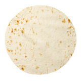 Lavash isolated on white Stock Image