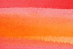 Lavata dell'acquerello Fotografia Stock