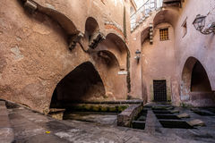 Lavatoio Medievale Medieval Laundry in Cefalu, Sicily, Italy Royalty Free Stock Photos