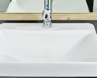 Lavatory Faucet Royalty Free Stock Photo