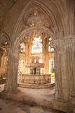 Lavatory in the Royal cloister of Batalha monastery Royalty Free Stock Photo