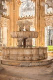 Lavatory in the Royal cloister of Batalha monastery Stock Images