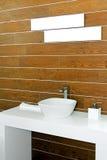 lavatory wooden Στοκ Εικόνες