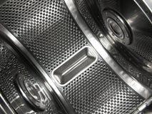 lavatrice a tamburo dei 2 vestiti Immagine Stock