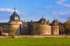 Lavaux Sainte Anne Castle in Belgium Royalty Free Stock Image